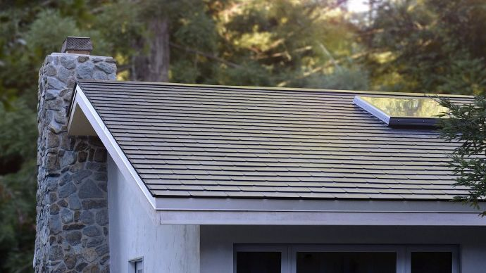 Here S What The First Tesla Solar Roofs Look Like In The
